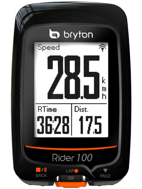 Bryton Rider 100 T GPS Fahrradcomputer + Herzfrequenz + Trittfrequenz